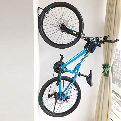 Qewmsg Stahl Fahrrad Wand Rack Mount Bike Storage Kleiderbügel Haken Garage Ständer Halter (Fahrrad Folding Rack)