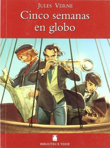 Biblioteca Teide 002 - Cinco semanas en globo -Jules Verne- - 9788430760176