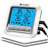 Habor Grillthermometer Bratenthermometer Barbecue Grill Thermometer digital Thermometer Fleisch Thermometer