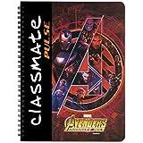 ClassmatePulse Notebook - Single line, 180 Pages, Spiral Binding, 240mm x 180mm