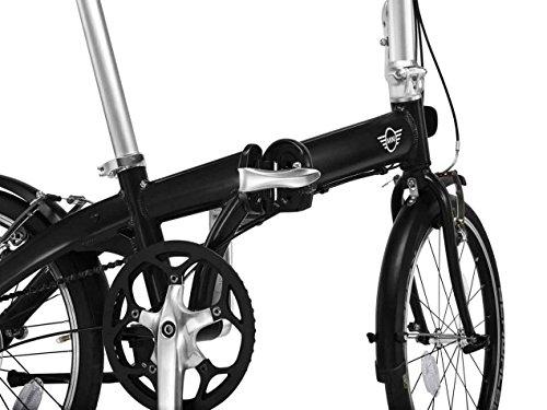 MINI Folding Bike Black - 3