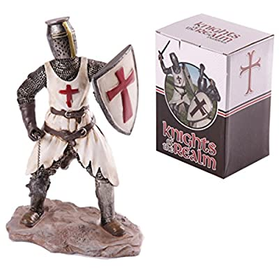 Knights Of The Realm Figurine Knight With Mace And Shield These Fantasy Knight Princess And