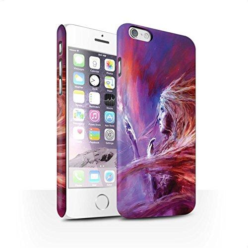 Offiziell Chris Cold Hülle / Matte Snap-On Case für Apple iPhone 6 / Pack 12pcs Muster / Fremden Welt Kosmos Kollektion Raum Mädchen