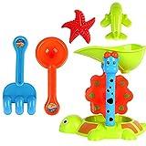 MagiDeal Kinder Strandspielzeug Sandspielzeug Set, Kinder pädagogisches Spielzeug - # C