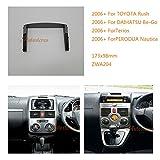 ZWNAV autoradio telaio fascia per Toyota Rush 2006 + Daihatsu be-go Terios Perodua nautica mascherina autoradio Toyota Rush stereo fascia Dash CD con kit di installazione
