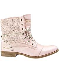 rose bottes et bottines chaussures femme chaussures et sacs. Black Bedroom Furniture Sets. Home Design Ideas