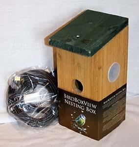 Nichoir oiseau avec cam ra web pour pc de birdboxview for Cables pc galeria jardin