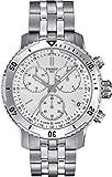 Tissot Herren-Armbanduhr Armband Zweifärbiger Edelstahl Zwei Ton Saphirglas Schweizer Quarz T0674172203101
