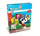 Noris Spiele 606011469 - Peanuts Memo, Legespiel, bunt