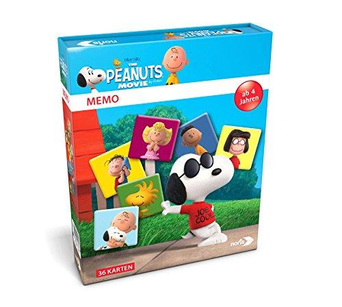 69 - Peanuts Memo, Legespiel, bunt (Snoopy Puzzle)