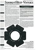 Sonnenfilter Vorsatz für das Newton Spiegelteleskop