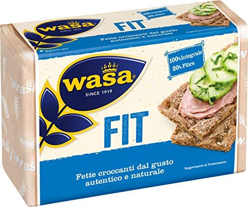 Wasa Fette Croccanti 100% Integrali Fit, Ricche di Fibre - 275 gr