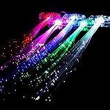 Ahimitsu multicolor Glow luci LED lampeggiante di treccia forcina fermacapelli per bar