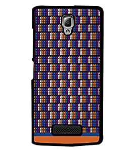 PrintDhaba Mobile Pattern D-1499 Back Case Cover for LENOVO A2010 (Multi-Coloured)