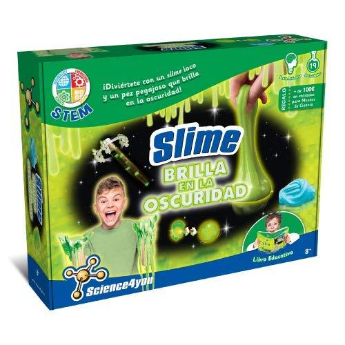 Science4you Slime brilla en la oscuridad - juguete educativo...