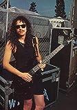Generic Kirk Hammet Metallica Foto Poster The Black Album Bluse CD 002 (A5-A4-A3) - A4