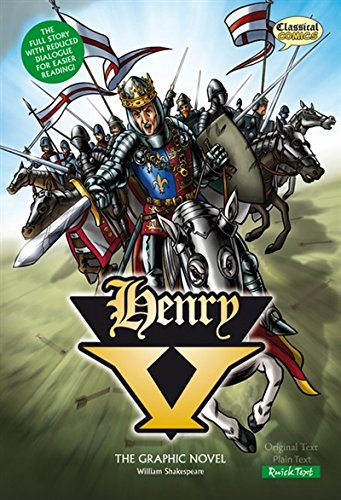 Henry V (Classical Comics): The Graphic Novel: Quick Text por William Shakespeare