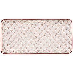 IB Laursen - Heart - Tablett länglich - Herz - Keramik