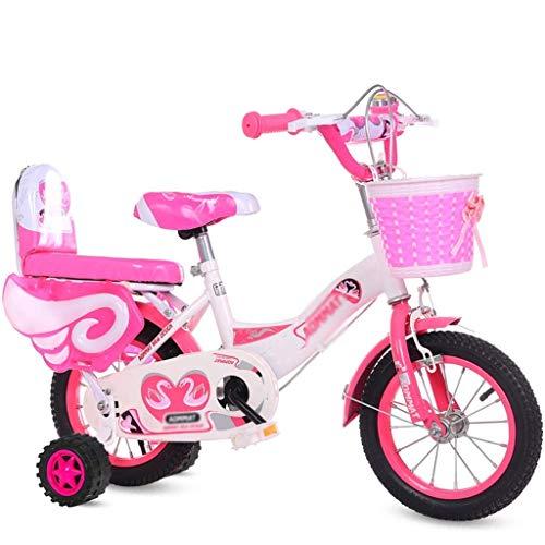 Xiaotian Kinderfahrrad Blau Fahrrad Geeignet für Indoor-Kleinfahrrad Outdoor-Sport Fahrrad -3~15 Jahre alte Kinder,B,14inch