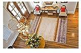 Love QAZ Einfache und Moderne Sofa Tisch Wohnzimmer Teppich Pastorale Schlafzimmer Dicke über den Shop Bett Fußbodenbelag (Größe: 1,2 * 1,7 m)