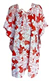SUNROSE White N Red Allover Floral Print...