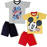 #4: MICKEY & FRIENDS BOYS HALF SLEEVES COSET PACK OF 2