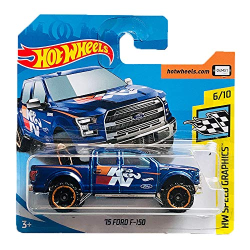 Hot Wheels '15 Ford F-150 HW Speed Graphics 81/365