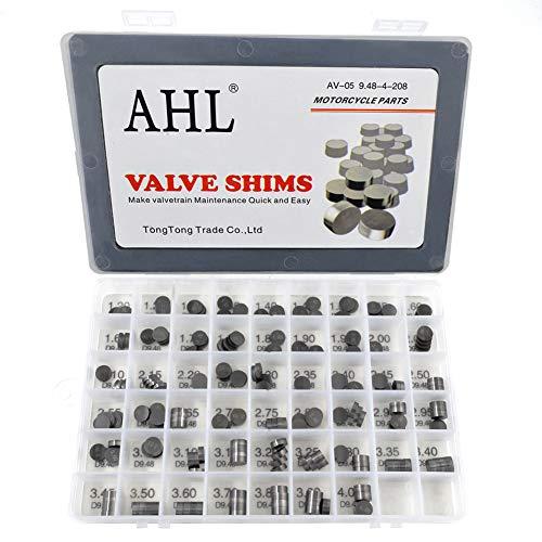 AHL Durchmesser: 9.48mm 4x52pcs Ventil Shim Ventile einstellen für TL1000R TL1000 R 1998-2003