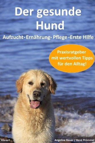 Der gesunde Hund. Praxisratgeber mit wertvollen Tipps für die Hundeerziehung, Hundeernährung, Hundepflege und Erste Hilfe