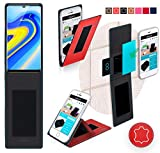 Cover for Nubia Z18 Case | in Red Leather | Multifunctional