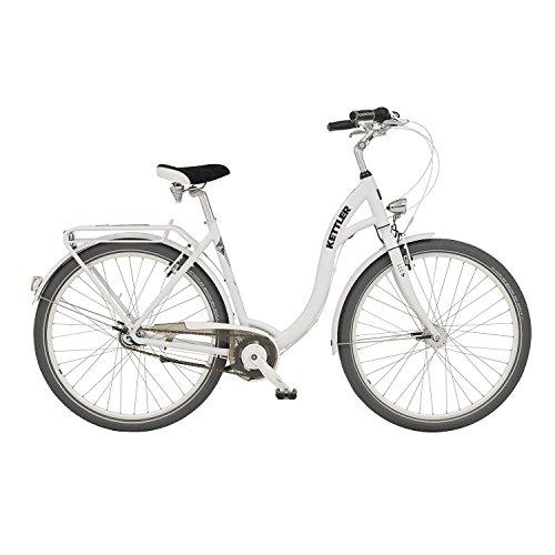 Kettler Layana Damen 7 Gang City Fahrrad 2016, Farbe:Weiss;Rahmenhöhe:53 cm