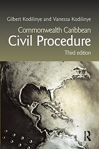 Commonwealth Caribbean Civil Procedure (Commonwealth Caribbean Law) by Gilbert Kodilinye (15-Aug-2008) Paperback