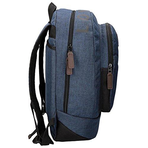 Imagen de pepe jeans 62923a1 worn 73  escolar, 22.85 litros, color azul alternativa