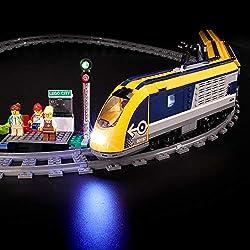 BRIKSMAX Kit de Iluminación Led para Lego City Tren De Pasajeros, Compatible con Ladrillos de Construcción Lego Modelo 60197, Juego de Legos no Incluido