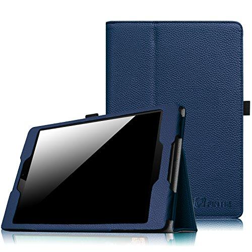 olio Hülle Case - Slim Fit Kunstleder Schutzhülle Tasche Etui Cover mit Standfunktion und [Auto Sleep/Wake] Funktion for HTC Nexus 9 (8,9 Zoll) Tablet-PC by Google, Marineblau ()