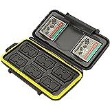 Flashwoife Turtle-SD6CF3MSD12 boîtier pour carte mémoire (résistant à l'eau) pour - 3 x CF et 6 x SDHC et 12 x microSD