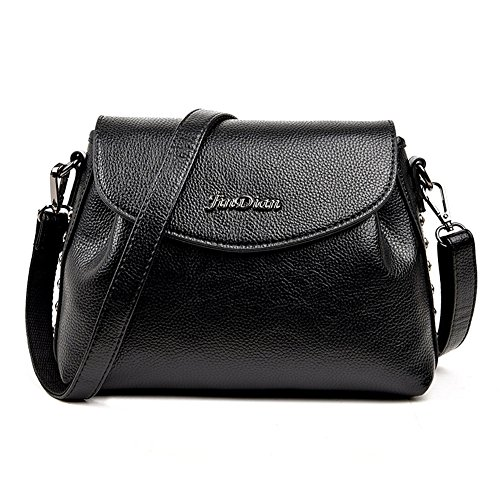keller-lady-piel-sintetica-cremallera-suave-bolso-bolsa-de-hombro-color-negro-talla-talla-unica