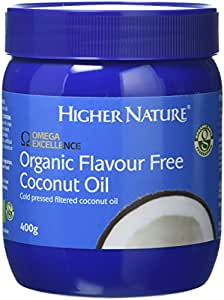 Higher Nature Omega Excellence Organic Coconut Oil - 400g Spread