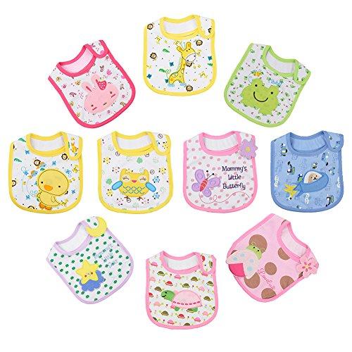 10-x-bavaglino-neonato-impermeabili-bambino-bandana-drool-bavaglini-100-cotone-panno-per-ruttino-neo