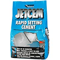 Everbuild JETCEM3 Jetcem - Juego de cemento rápido (3kg)