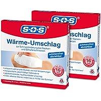 SOS Wärme-Umschlag (2er Pack) - Schmerzlinderung bei Nacken- und Schulterschmerzen preisvergleich bei billige-tabletten.eu