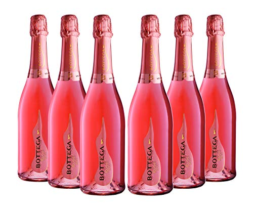 Bottega poeti rose venezia doc spumante brut - 6 bottiglie da 750 ml