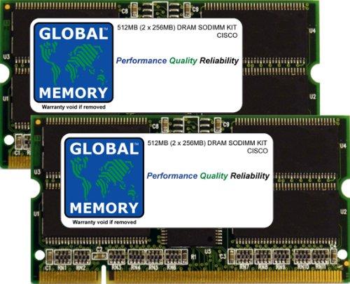 7304-serie (512MB (2 x 256MB) DRAM SODIMM ARBEITSSPEICHER RAM KIT FÜR CISCO 7301/7304 ROUTERN & 7200 SERIES ROUTERN (MEM-NPE-G1-512M , MEM-7301-512M))