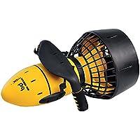 o Propulsor Acuático Sea Scooter de flotación para bucear, hacer snorkel y juegos en piscina. (amarillo)