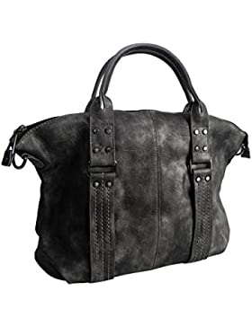 Moderne XL Handtasche von Jennifer Jones - Schultertasche Umhängetasche Shopper Tragetasche Damentasche Woman's...