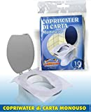 Veline Copriwater in Carta Per Dispenser Mini Conf.da 10 fogli