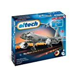 Eitech 00010 - Metallbaukasten - Flugzeug Set, 570-teilig