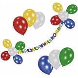 ballongruesse folienballon welcome home marquee 70cm gasgef llt im karton tolles. Black Bedroom Furniture Sets. Home Design Ideas