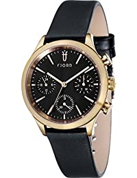 Fjord Analog Black Dial Men's Watch - FJ-3023-03