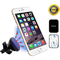 Kainnt Aire Soporte Móvil Coche, Universal Grip Magic Smartphone Soporte, Air Vent Magnetic Mount holder for iPhone7, 7plus,6s,6s plus, 6,6Plus,Samsung Galaxy S3, S4, S5,LG,and 3,5-5,8inch Smartphone and GPS